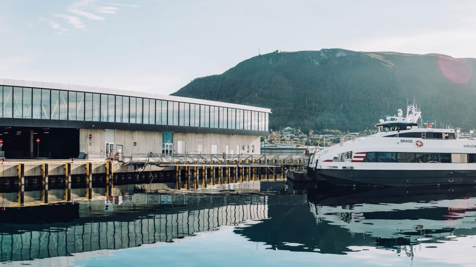 Energisentral til havneterminalen i Tromsø
