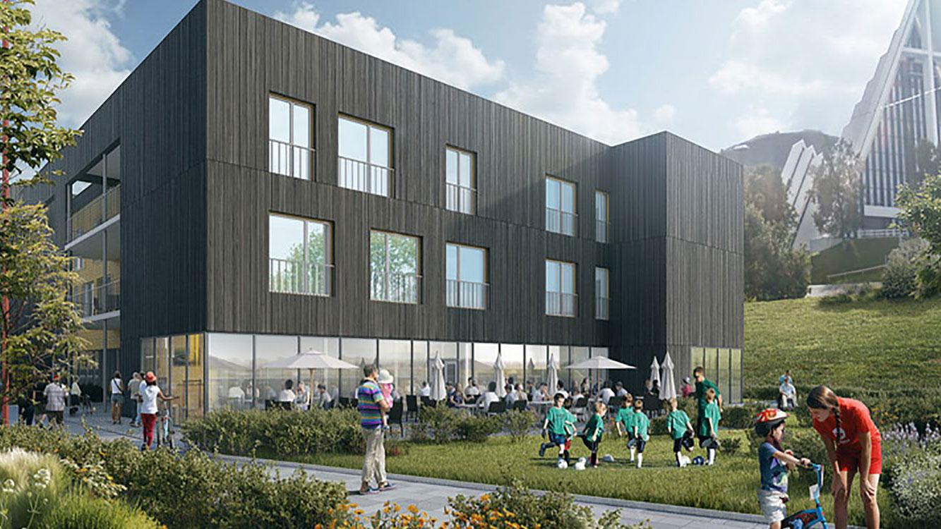 Energisentral til Otium bo- og velferdssenter i Tromsø