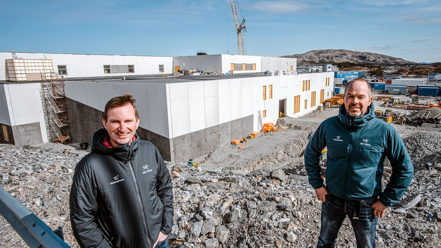 Miljøvennlig energianlegg til Laksefabrikken på Marøya
